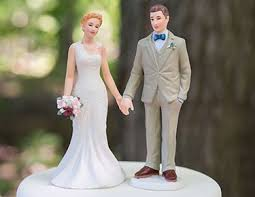 <b>Wedding Cake Toppers</b>: <b>Figurines</b>, Personalized - The Knot Shop