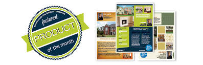Product Of The Month Publisher Template Property Flyers