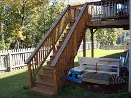 Modern Handrail home wood deck stair railing ideas design modern handrail outdoor 7403 by guidejewelry.us