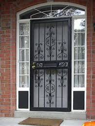 Security Door Designs Frame Screen Reviews Sliding Patio Doors Home