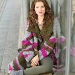 Сабрина вязание пальто