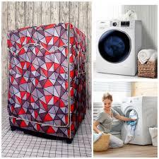 Áo Trùm Máy Giặt Vải Dù Cao Cấp dành cho Máy giặt Samsung cửa ngang 10kg  màu trắng giá cạnh tranh
