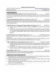 Desktop Engineer Resume Format Resume Template Sample
