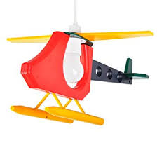 MiniSun Cool Children's Bedroom <b>3D</b> Colourful Helicopter Ceiling ...