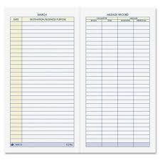 irs mileage log book gas mileage form for taxes and mileage log book pdf la portalen