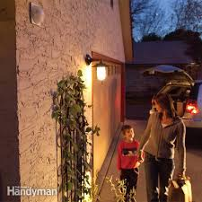 installing a remote motion detector for lighting the family handyman installing a remote motion detector for lighting