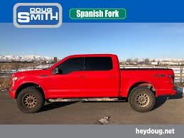 Spanish Fork Red 2015 Ford F-150: Used Truck for Sale ...