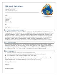 program manager cover letter samples program manager cover letter example