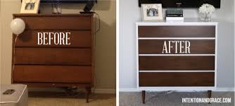 mid century modern furniture restoration. mid century modern dresser diy painting and staining laminate or fake wood refinishing before furniture restoration n