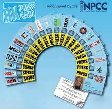 Press Uk – Journalists Association British Of The Card