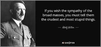 Dumb Inspirational Quotes Classy TOP 48 QUOTES BY ADOLF HITLER Of 48 AZ Quotes