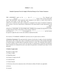 For your supply contract templates requirement, the article is the right answer. Pdf Apdcl Agreement Format For Lt Connection Pdf Download Instapdf