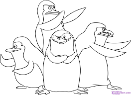 Small Picture the penguins of madagascar coloring pages caleb Free Printables