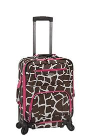 Patterned Luggage