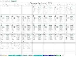 Server Schedule Template Employee Backup Plan Template Server Log Excel My Templates