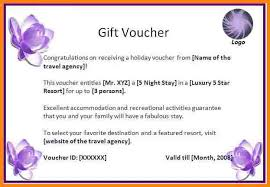 Free Gift Voucher Template For Word Gift Vouchers Templates For Word Gift Ideas