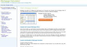 Access Mortgage Calculator Pc Com Mortgage Calculator Homepage