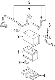 parts com® hyundai santa fe fuse box oem parts 2008 hyundai santa fe se v6 3 3 liter gas fuse box