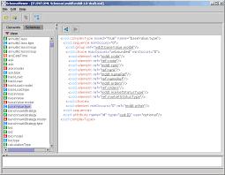 Viewing Xml File Xsd Viewer Xml Schema Viewer Freeware Application
