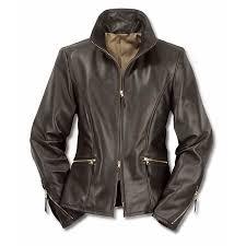 las horse hide leather roadster jacket black brown