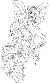 Coloring Pages Winx Google Search Andy Pinterest Coloring