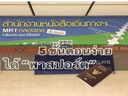 5 วิธีง่าย ได้ Passport @ MRT คลองเตย