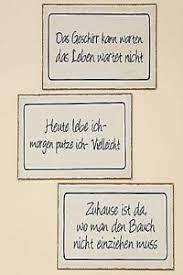 Schild Metallschild Wandschild Blechschild Lustige Sprüche 40 X 20
