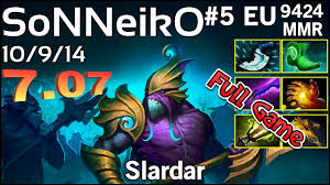 support sonneiko na vi slardar dota 2 full game youtube