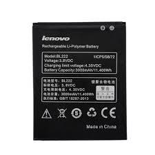 Lenovo S660 S668T 3000mAh BL222 ...