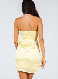 Quinn Mini Dress Yellow