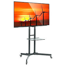 outdoor tv stand outdoor stand wheels rolling stand mobile cart flat led wheels up media screen