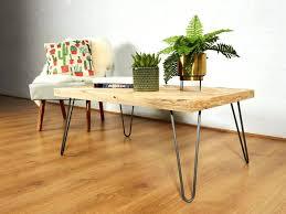 hairpin legs coffee table reclaimed chevron pallet leg round hairpin legs coffee table