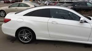 Pre Owned White 2014 Mercedes-Benz E-Class 2dr Cpe E350 4MATIC ...