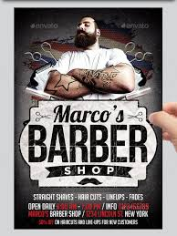 barber flyer 20 best barbershop flyer template design free premium templates
