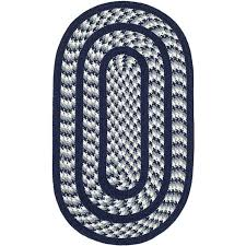 safavieh braided ivory braided rug oval 2 3