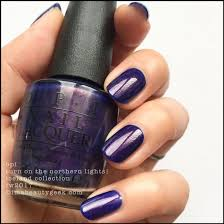 Opi Infinite Shine Turn On The Northern Lights Opi Iceland Collection Swatches Review Fw 2017 Purple