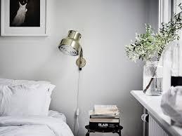 Lamp In Bedroom Bedroom Light Grey Wall Retro Wall Lamp Bedrooms Pinterest