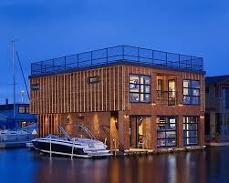 Floating House Plans Floating Home Interiors For West Coast Living