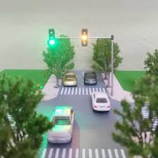 Ho Scale Traffic Light Controller 5v Street Light Traffic Light Model Ho Oo Scale Turn Signal Led Model Train Architecture Street