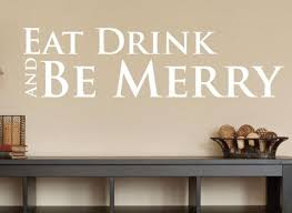 eat drink and be merry wall decal 0011 kitchen wall decals food decals  on eat drink and be merry metal wall art with eat drink and be merry wall decal 0011 kitchen wall decals