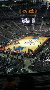 The Palace Of Auburn Hills Section 206 Row 5 Seat 001