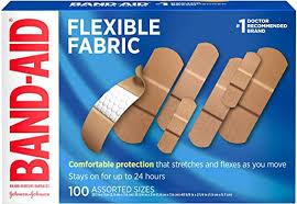 Band-Aid Brand Flexible Fabric Adhesive Bandages ... - Amazon.com