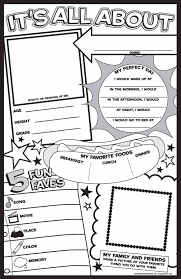 Small Picture All About Me Colouring Pages ColoringPages234
