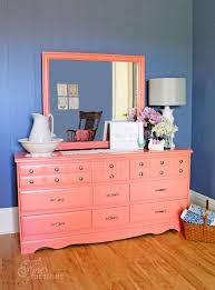 coral furniture. Coral Painted Dresser Makeover Furniture R