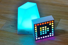 iphone controlled lighting. Dotti, Priced At $80, Is A Square Pixel Light With 8x8 Grid Of LEDs That Can Be Arranged Into Different Pixellated Shapes And Colors. Iphone Controlled Lighting