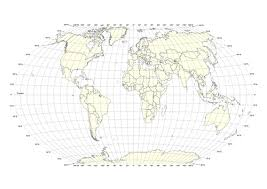 59 Correct World Outline Map With Latitudes