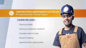 Construction Electrician Pre Apprenticeship Training Institute Construction Maintenance Electrician