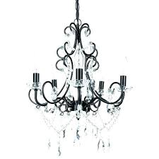 chandeliers black chandelier with crystal crystals mini chandeliers best imag