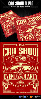 Car Show Flyer Template Graphicriver 300dpi With Size 8 5 X 11
