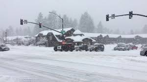 Bright surfaces, such as sand, water, and snow, will increase uv exposure. Us50 South Lake Tahoe Snow Storm Youtube